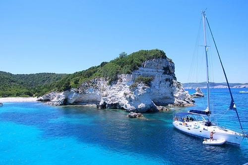 Glyfada Beach Villas Resort And Restaurant Paxos Island Greece
